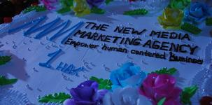 The New Media Marketing Agency anniversary