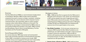 The New Media Group is on Pathways to Social Responsibility Magazine 2014